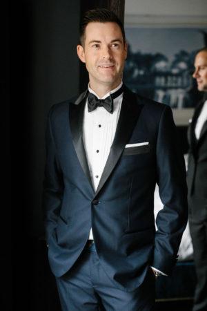 Modern Elegant Groom Tux