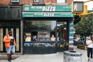 NYC Pizzeria Wedding Photo