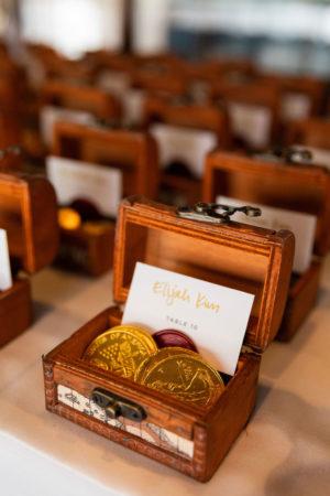 Treasure Box Wedding Favors