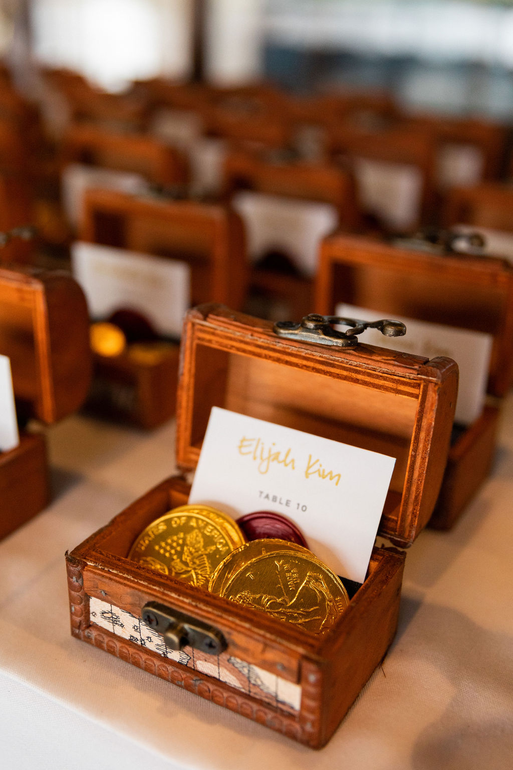 Treasure Box Wedding Favors