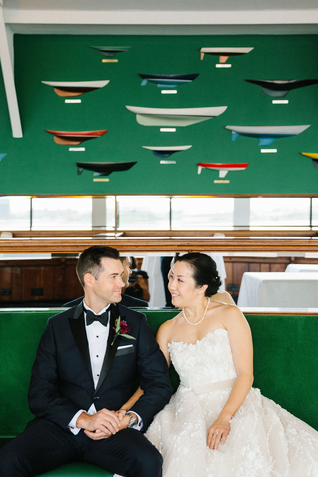Fun + Colorful Tiki Inspired Wedding 16