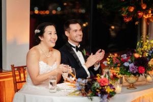 Wedding Toast Photo