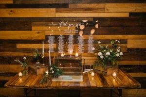 Acryllic Clear Wedding Seating Chart