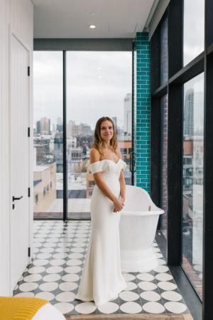 Brooklyn Wedding BHDLN Dress