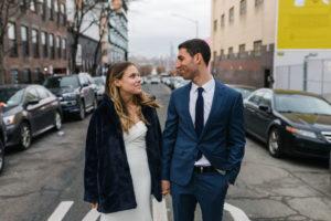 Modern NYC Wedding Photo