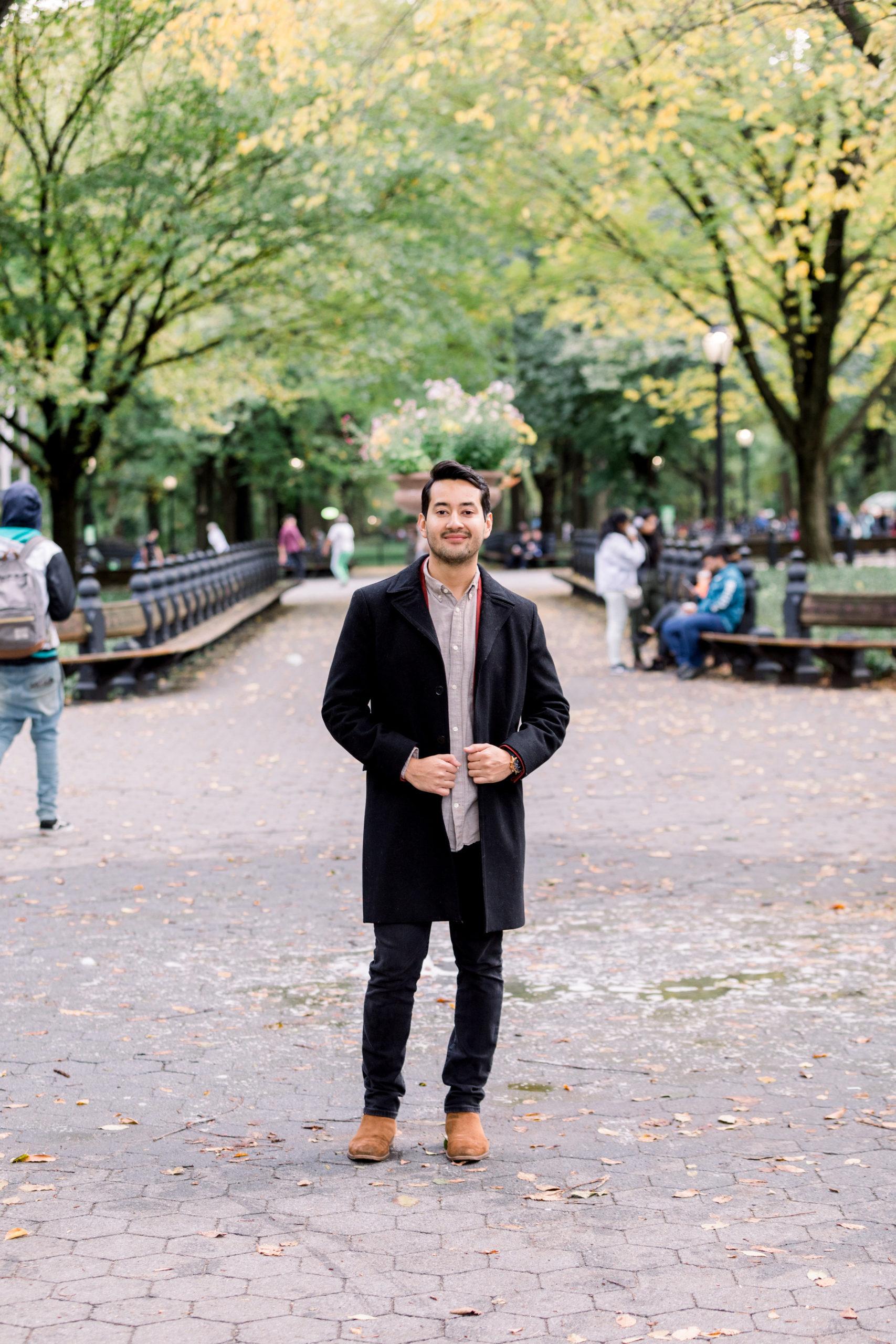 Cozy Central Park Proposal 11