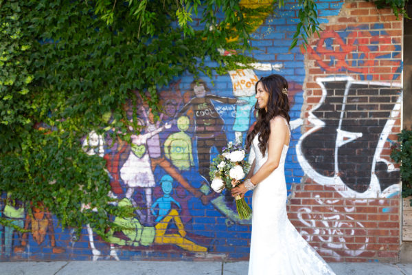 Brooklyn Wedding Mural
