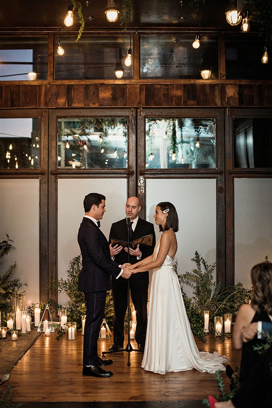 Candlelit Brooklyn Wedding 4