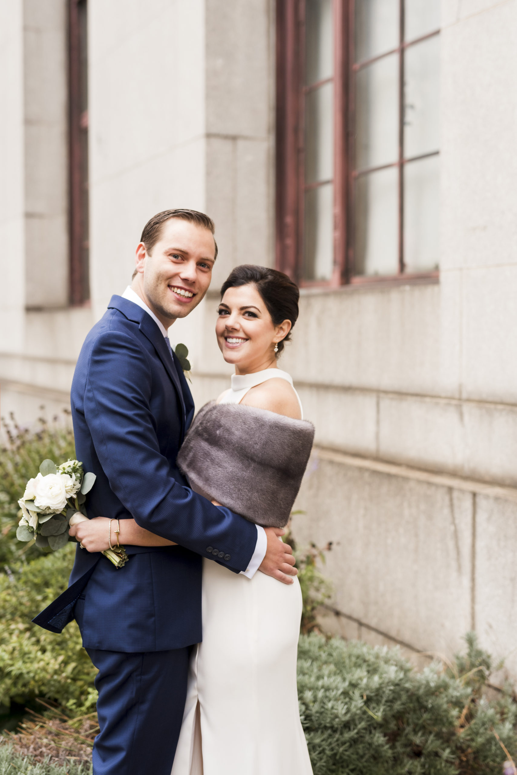 Chic City Hall Elopement 12
