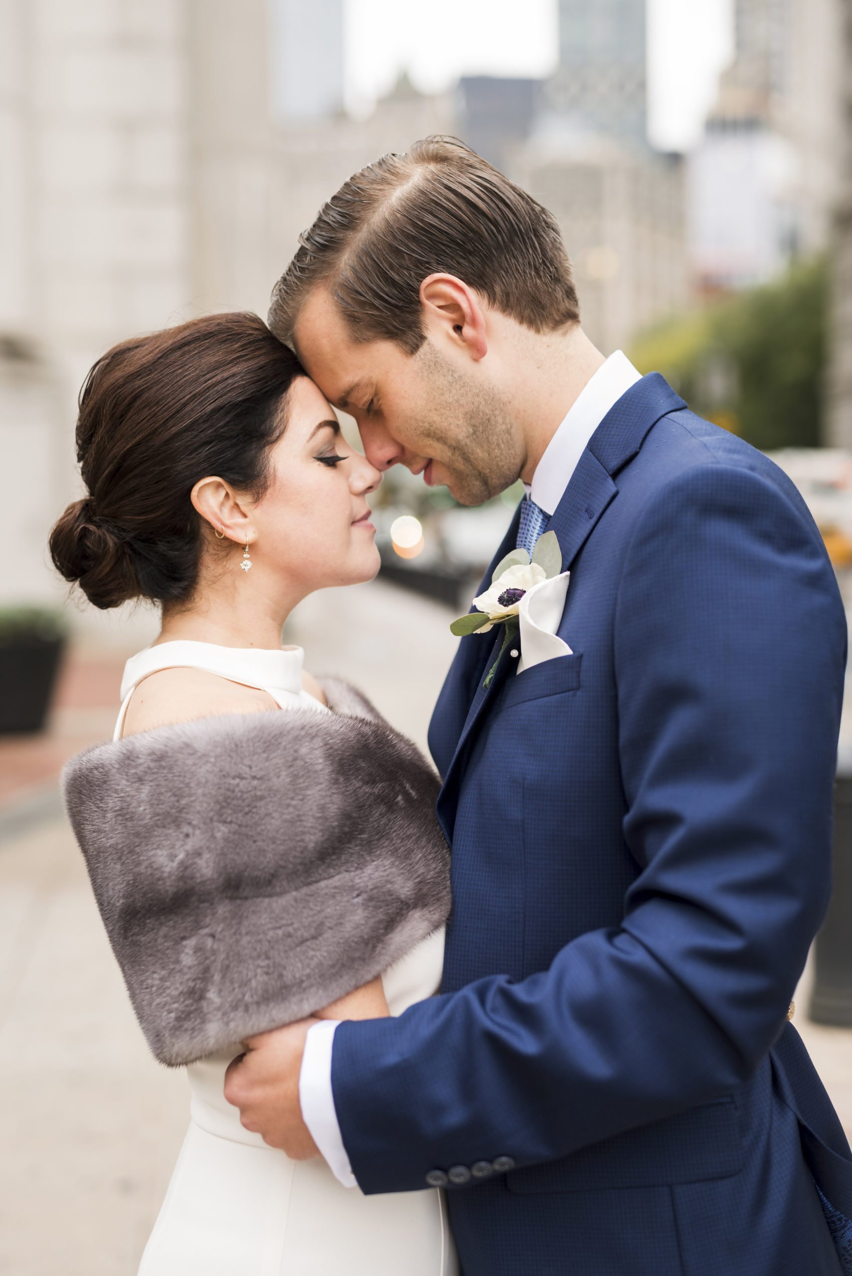 Chic City Hall Elopement 14