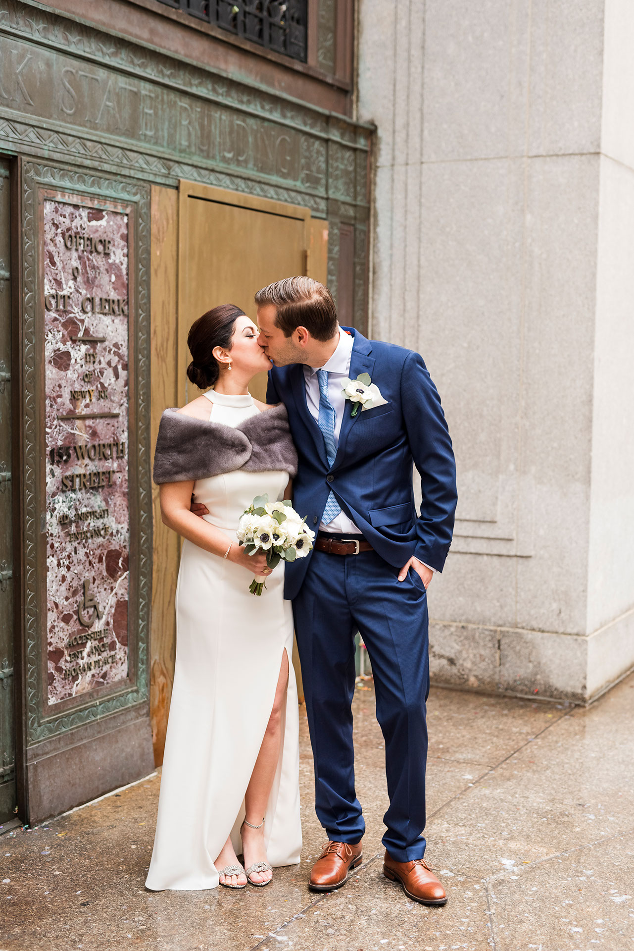 Chic City Hall Elopement 9