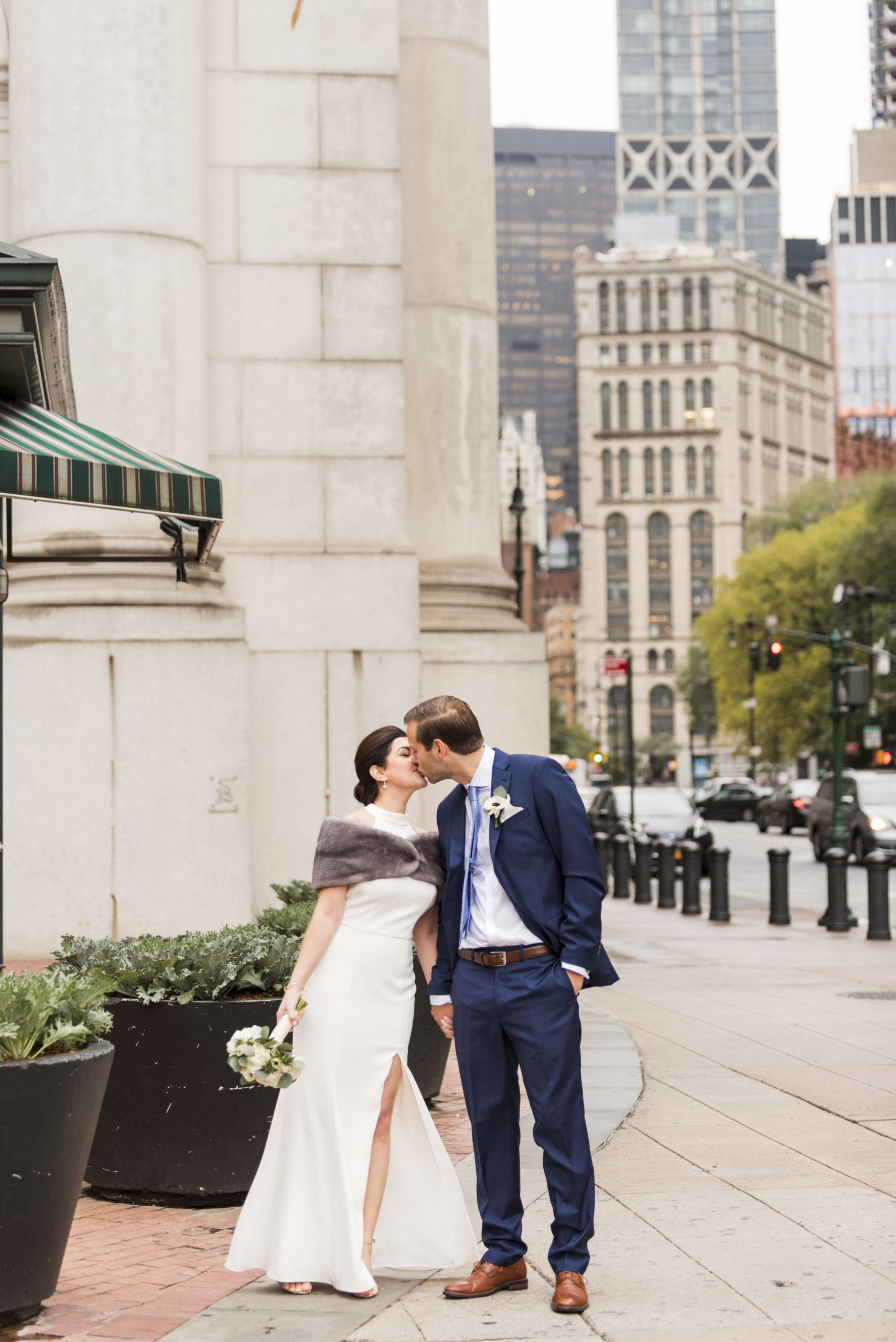 Chic City Hall Elopement 13
