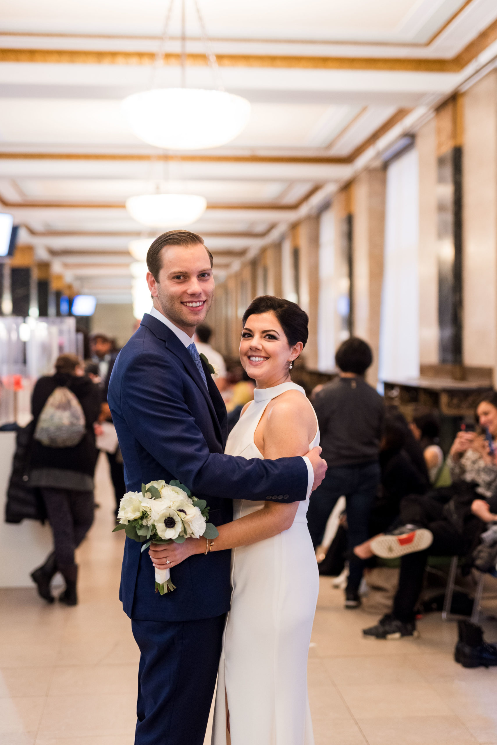 Chic City Hall Elopement 1