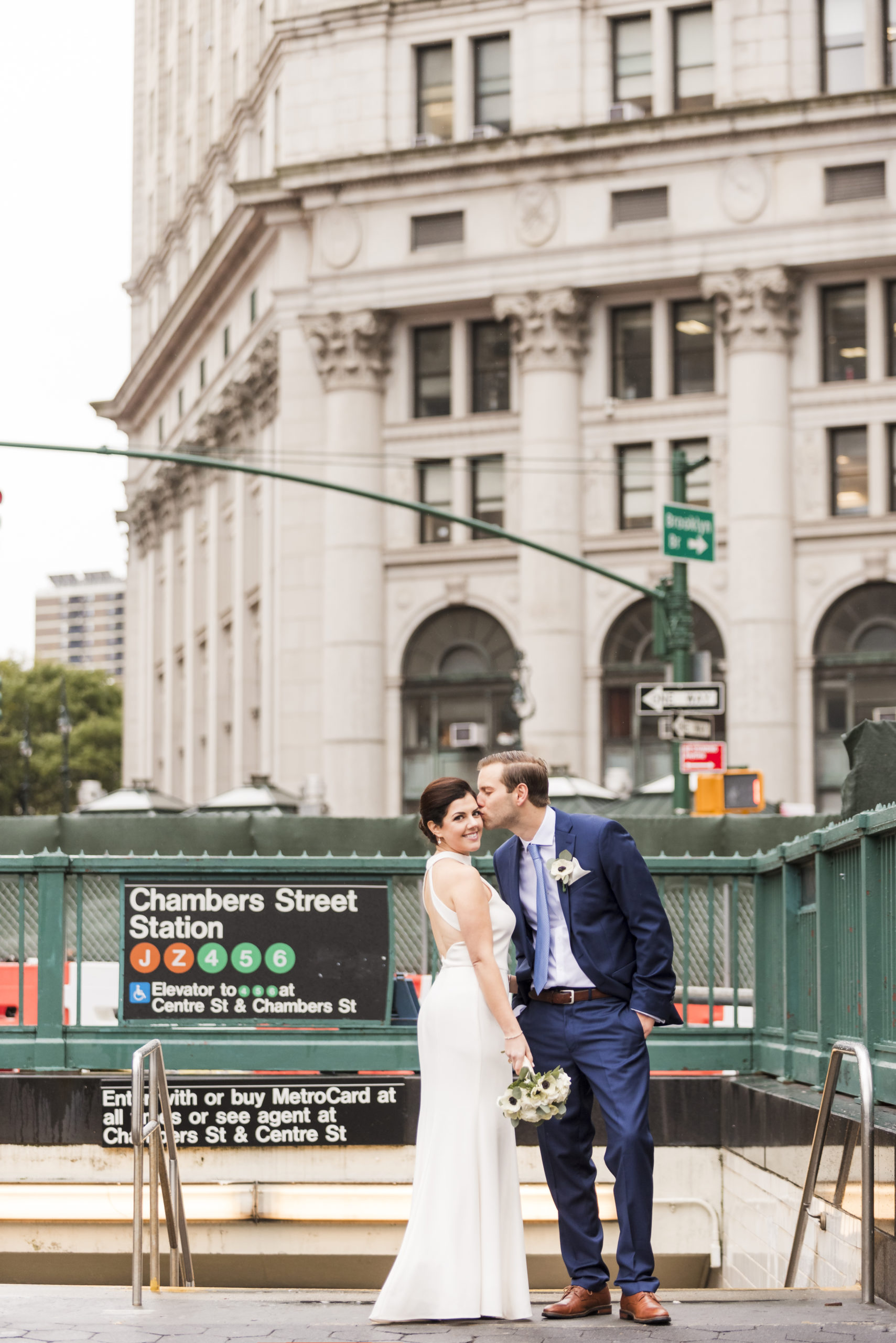Chic City Hall Elopement 17