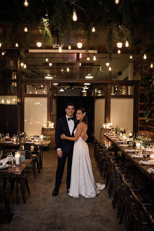 Candlelit Brooklyn Wedding 1