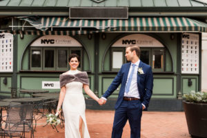 Apollo Fields Megan and Seitse's NYC Courthouse Elopement