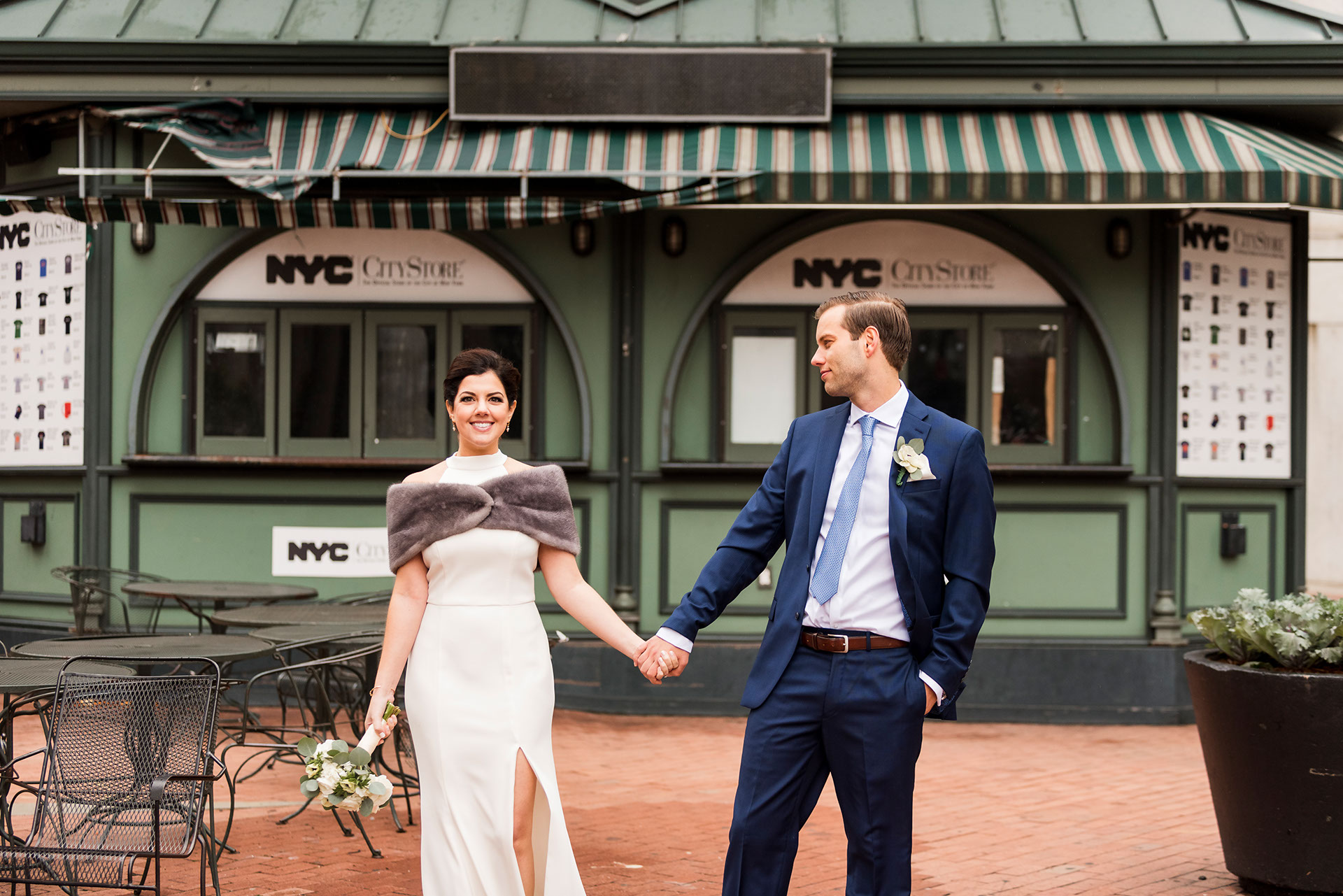 Chic City Hall Elopement 15
