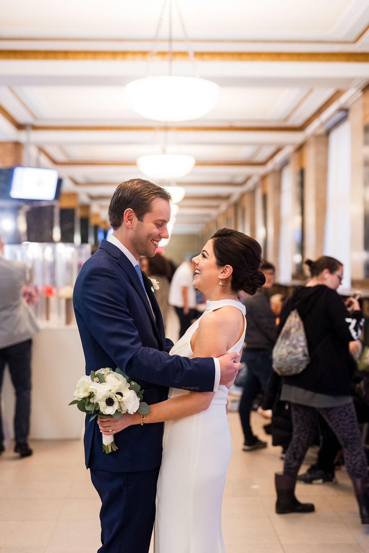 Chic City Hall Elopement 4