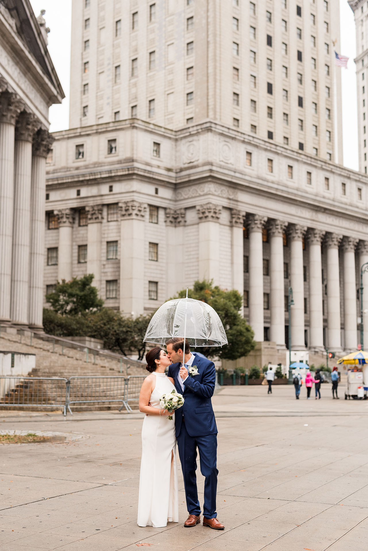 Chic City Hall Elopement 19