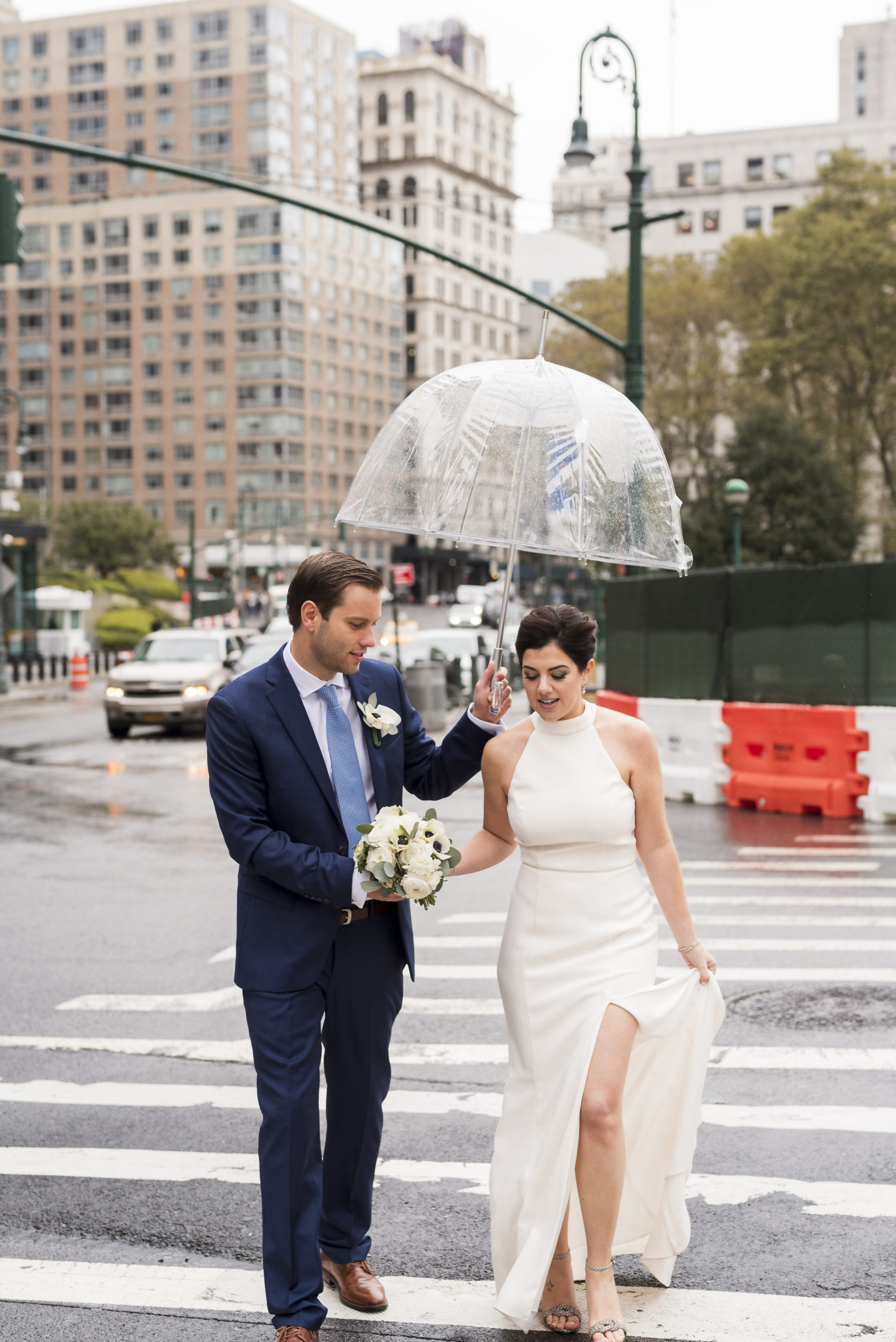 Chic City Hall Elopement 16