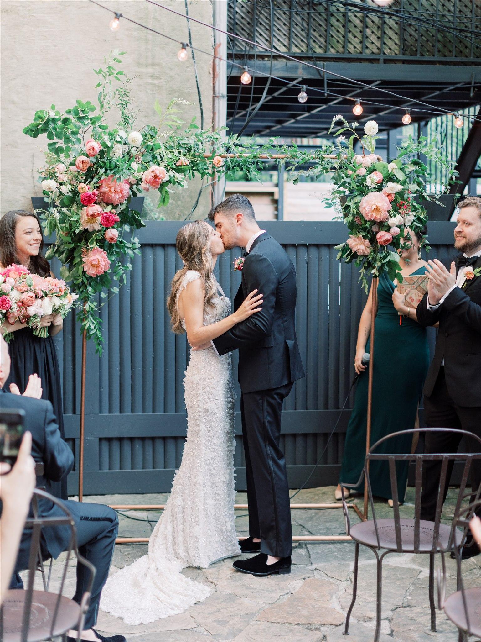 Modern + Elegant Wedding in Brooklyn 9