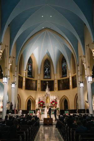 Brooklyn Catholic Church Wedding