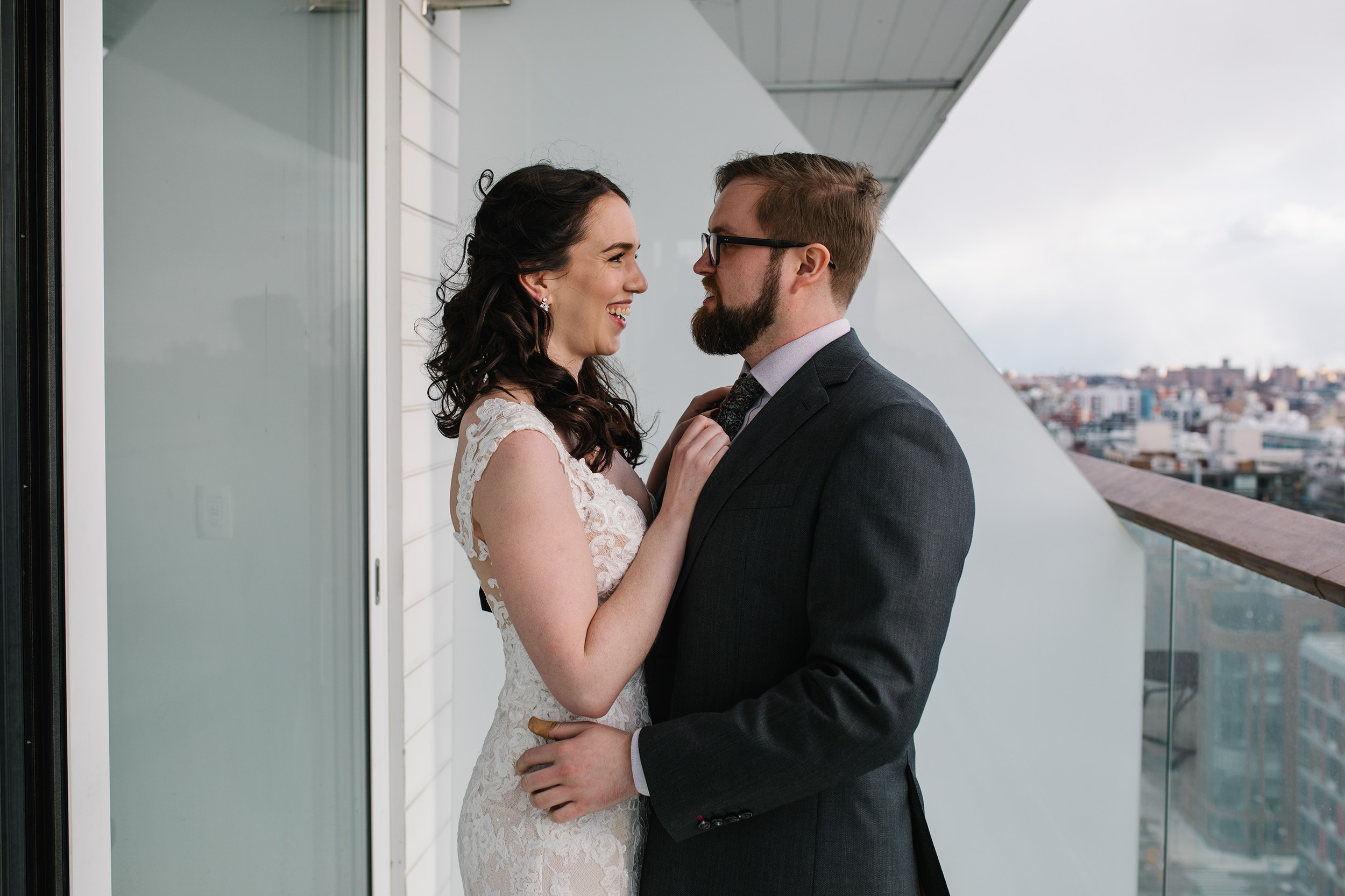 Brooklyn Hotel First Wedding Look
