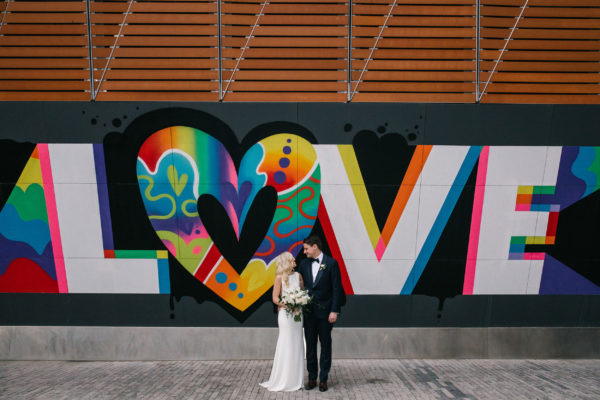 Romantic Modern Brooklyn Wedding 1
