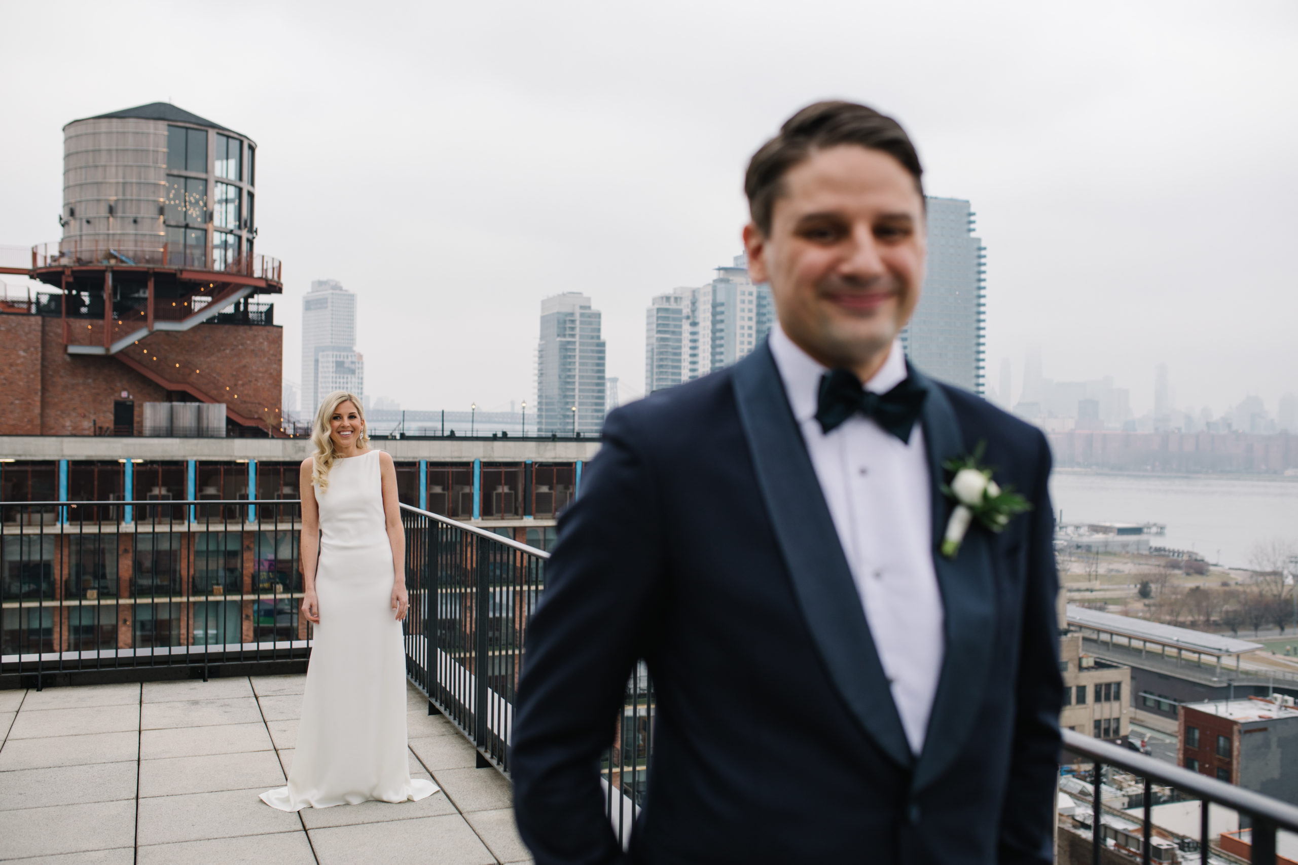 Romantic Modern Brooklyn Wedding 7