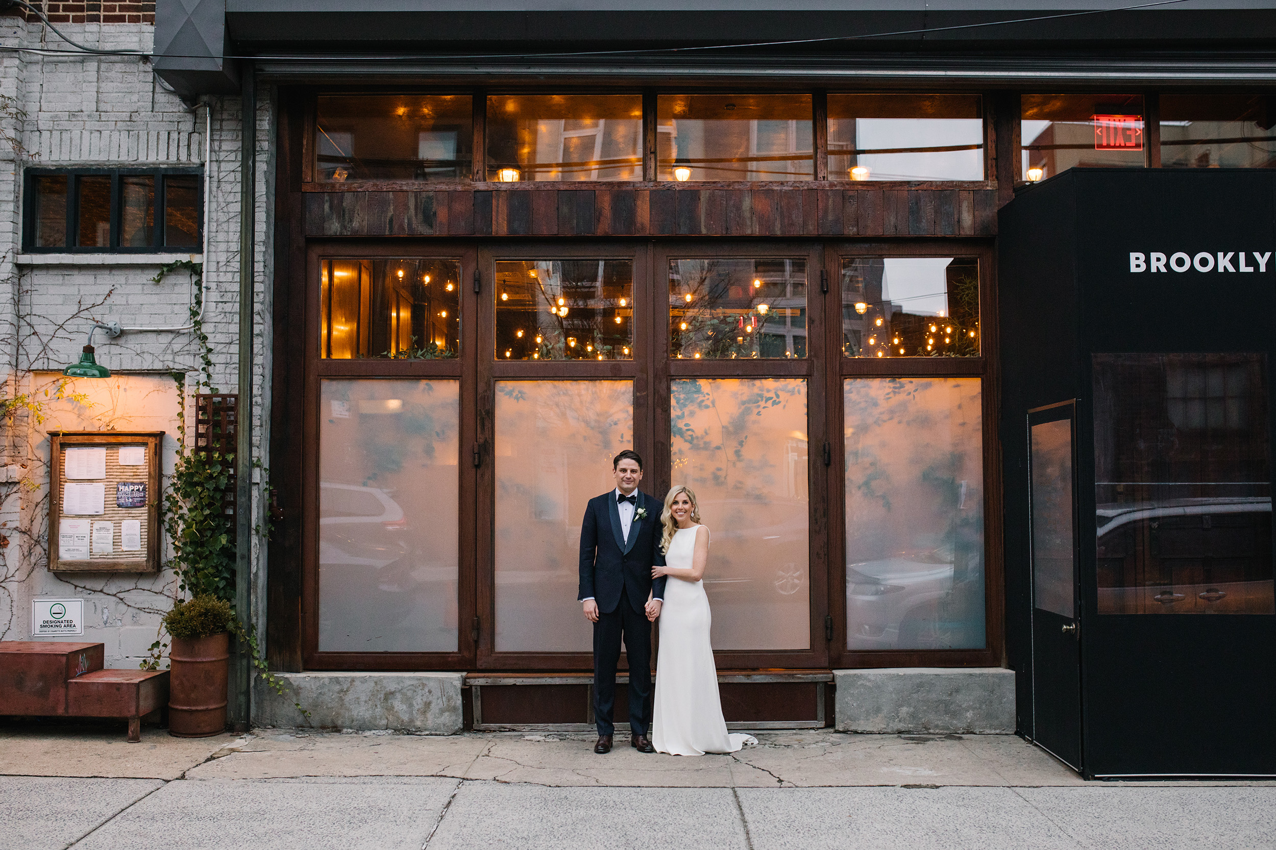 Romantic Modern Brooklyn Wedding 12