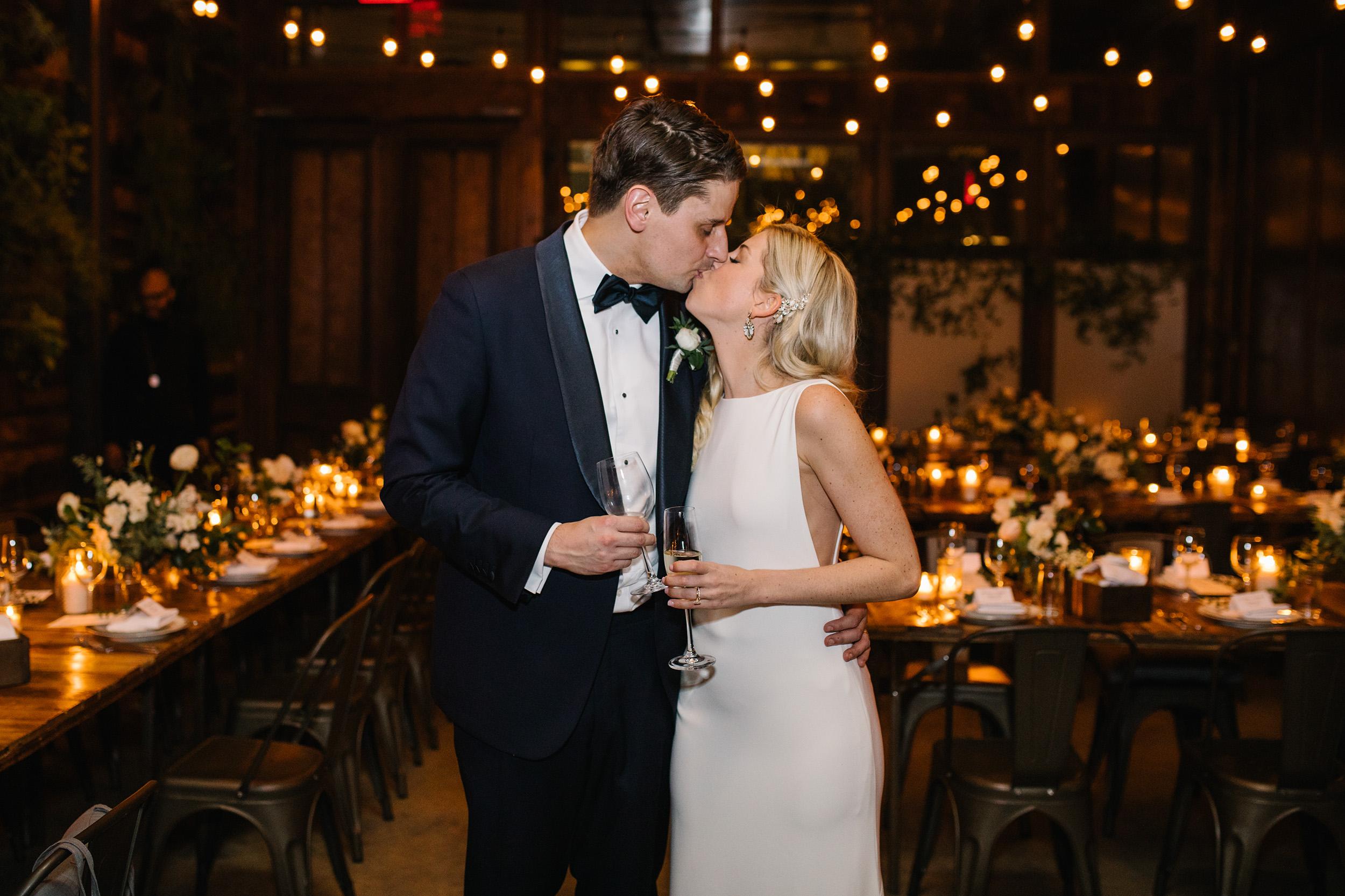 Romantic Modern Brooklyn Wedding 19