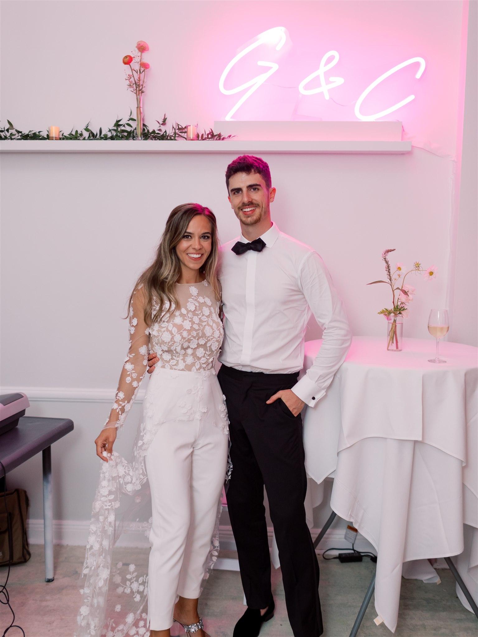 Modern + Elegant Wedding in Brooklyn 22