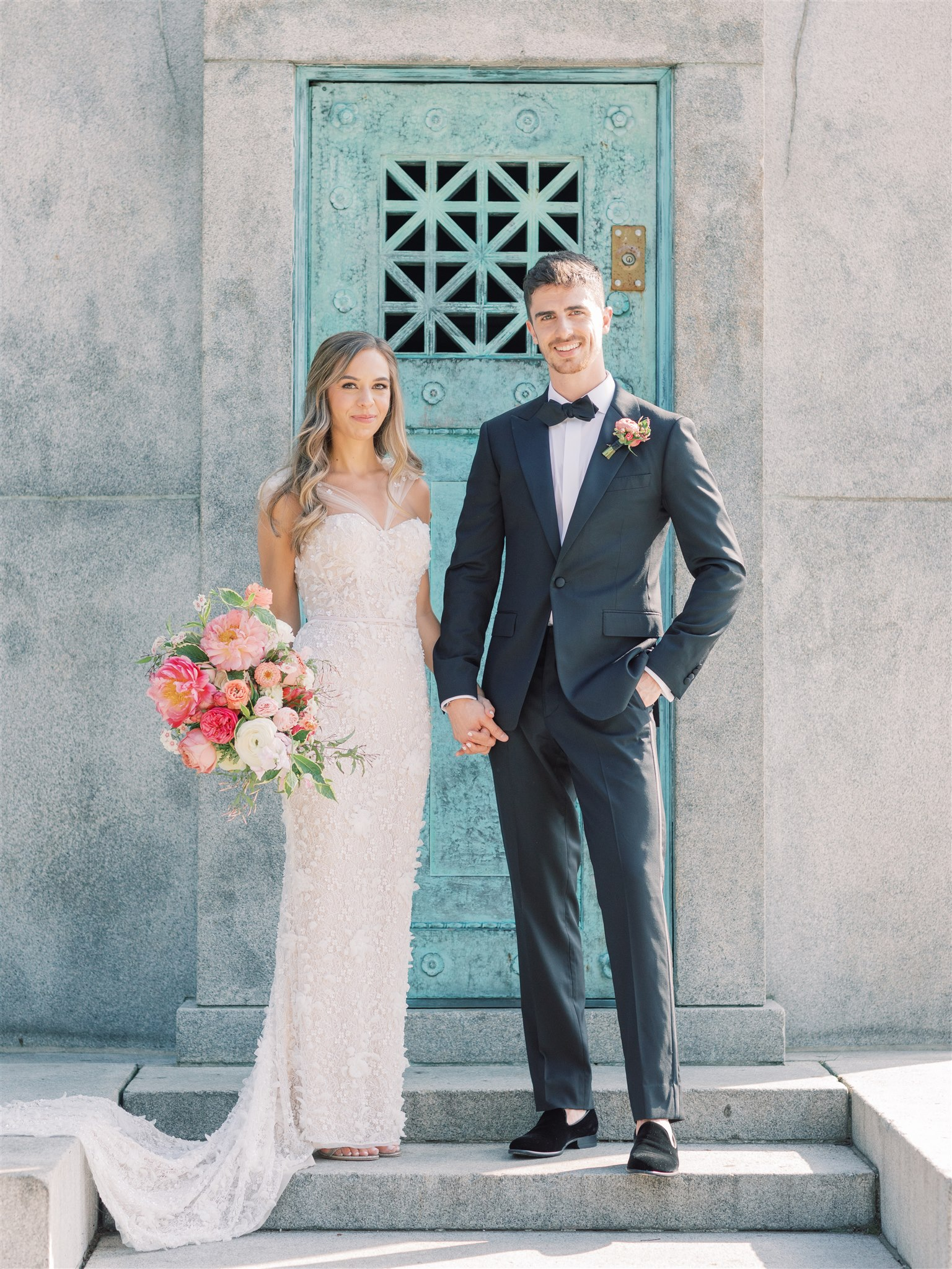 Modern + Elegant Wedding in Brooklyn 13