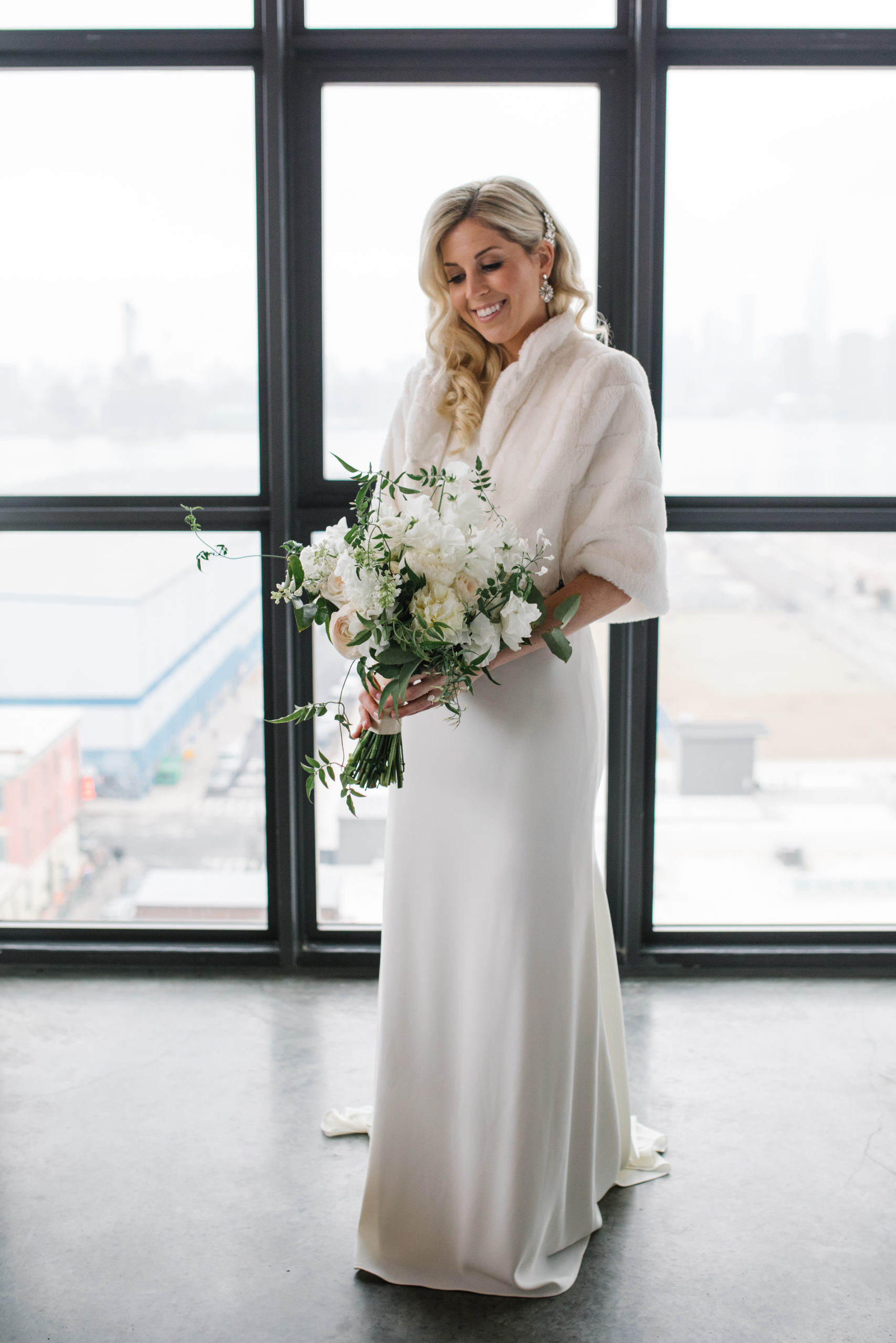Romantic Modern Brooklyn Wedding 4