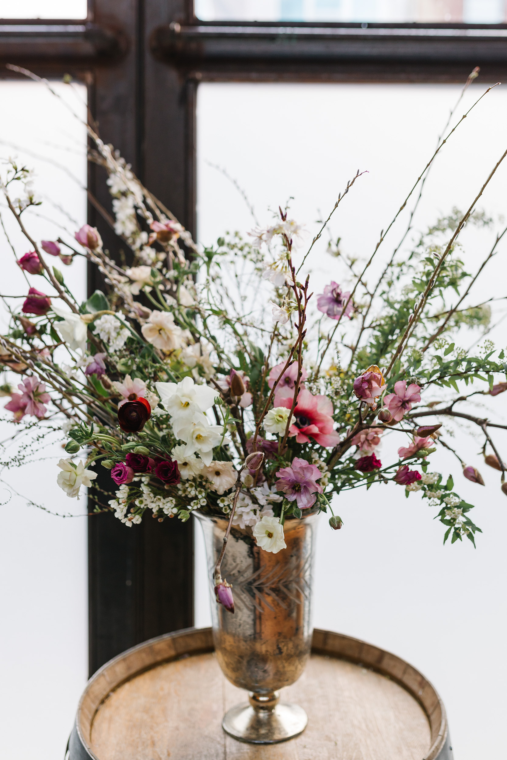 Flowering Branch Wedding Flowers