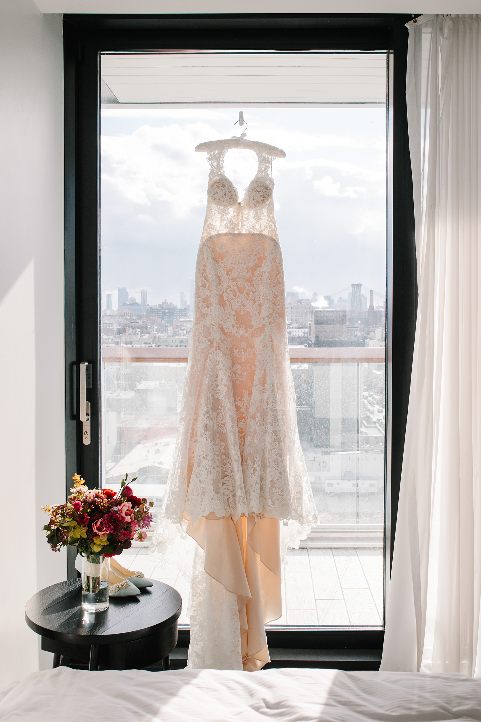 Lace Kleinfeld Wedding Gown