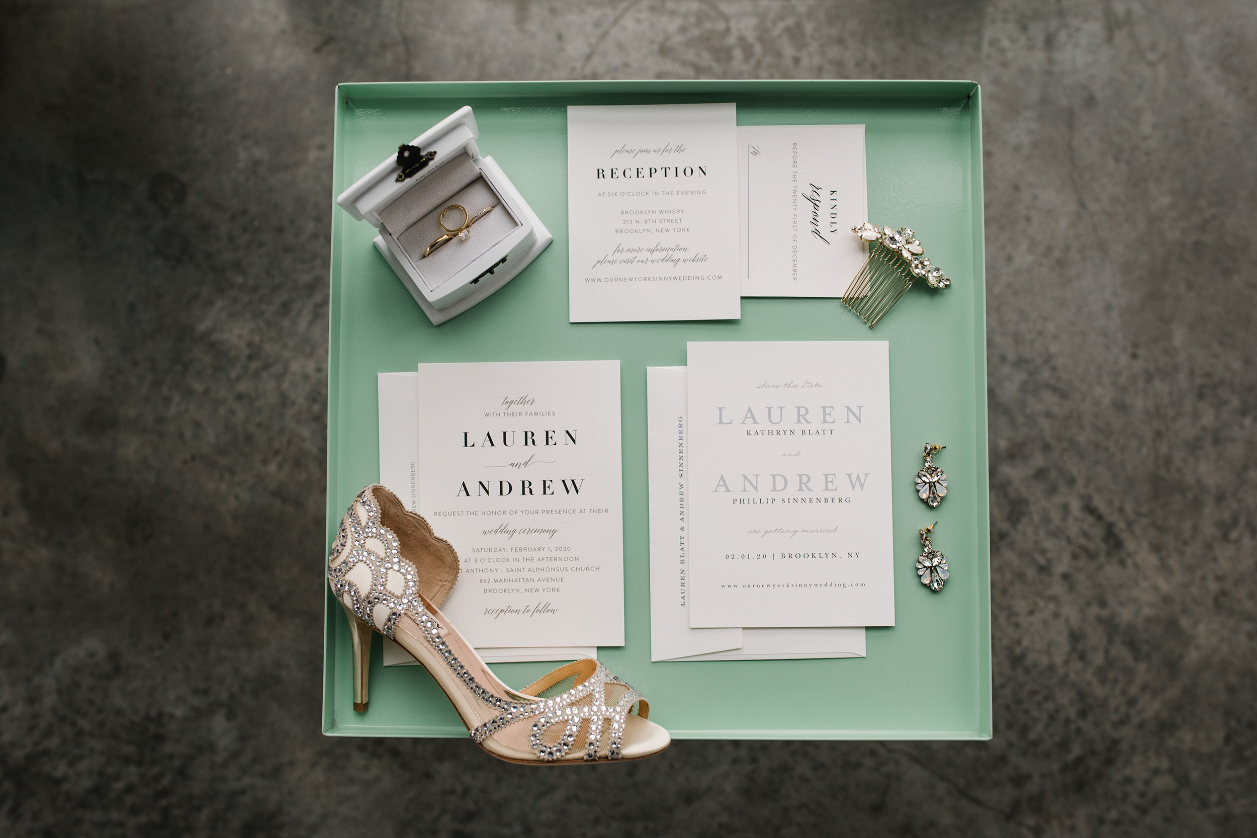 Romantic Modern Brooklyn Wedding 3