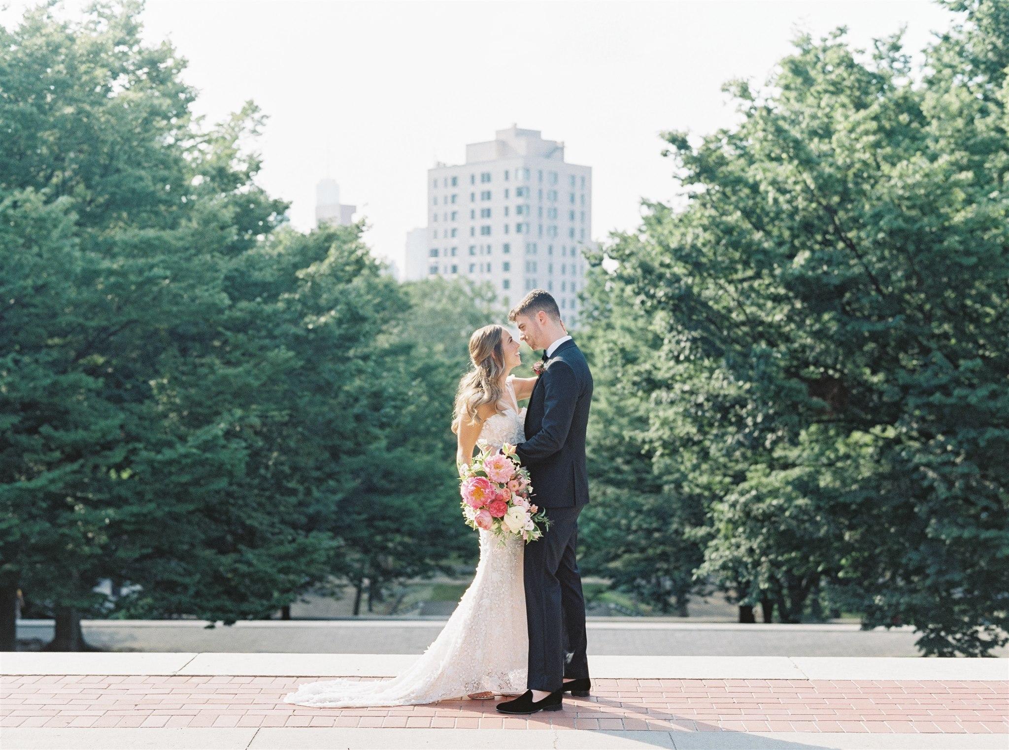 Modern + Elegant Wedding in Brooklyn 14