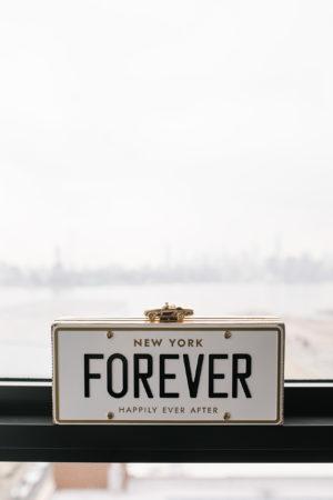 New York Forever Wedding Clutch