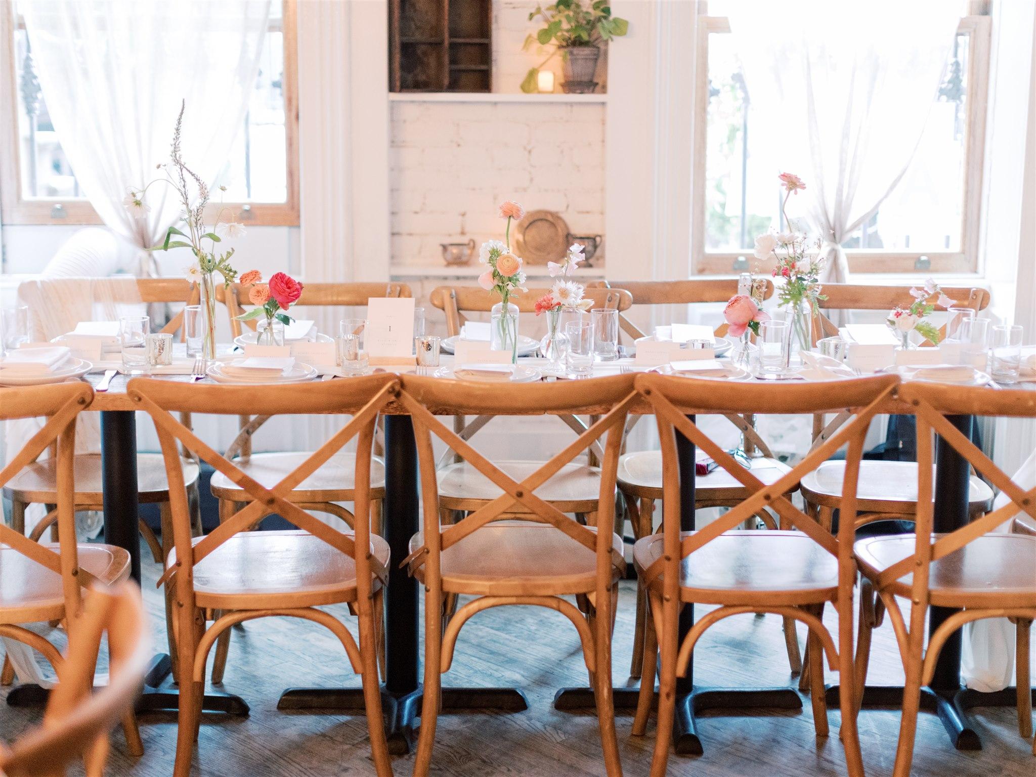 Modern + Elegant Wedding in Brooklyn 17