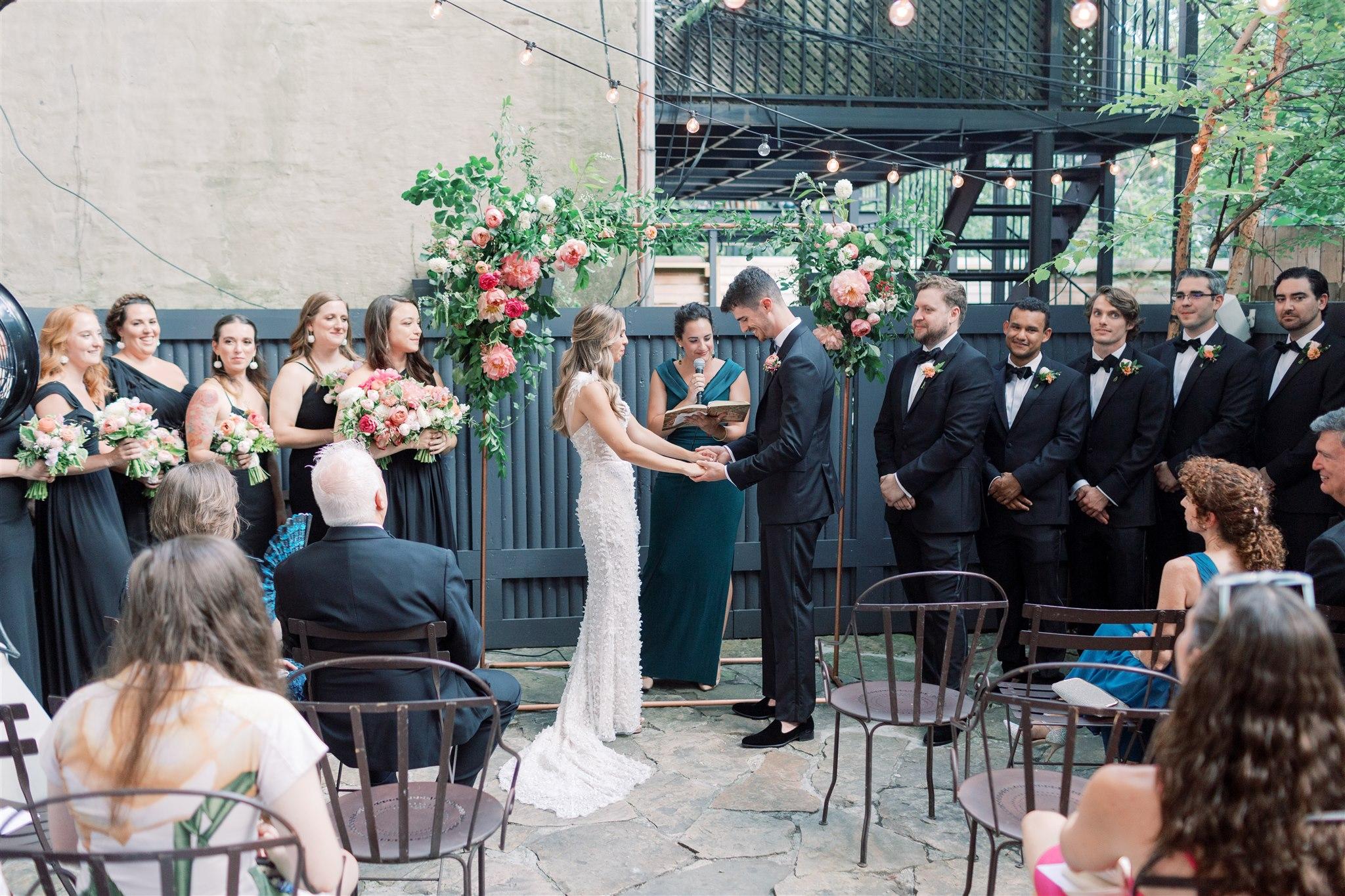 Modern + Elegant Wedding in Brooklyn 7