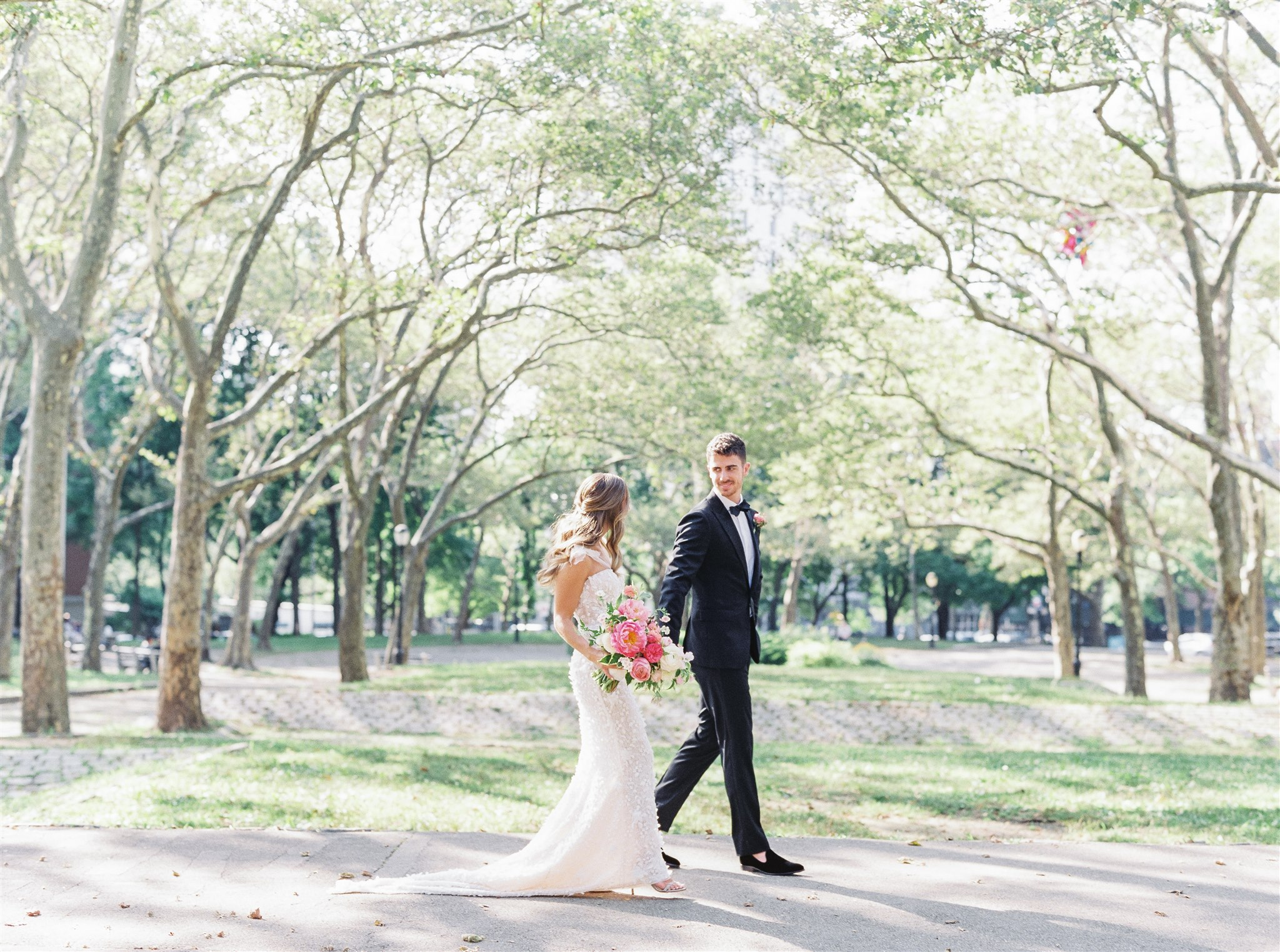 Modern + Elegant Wedding in Brooklyn 11