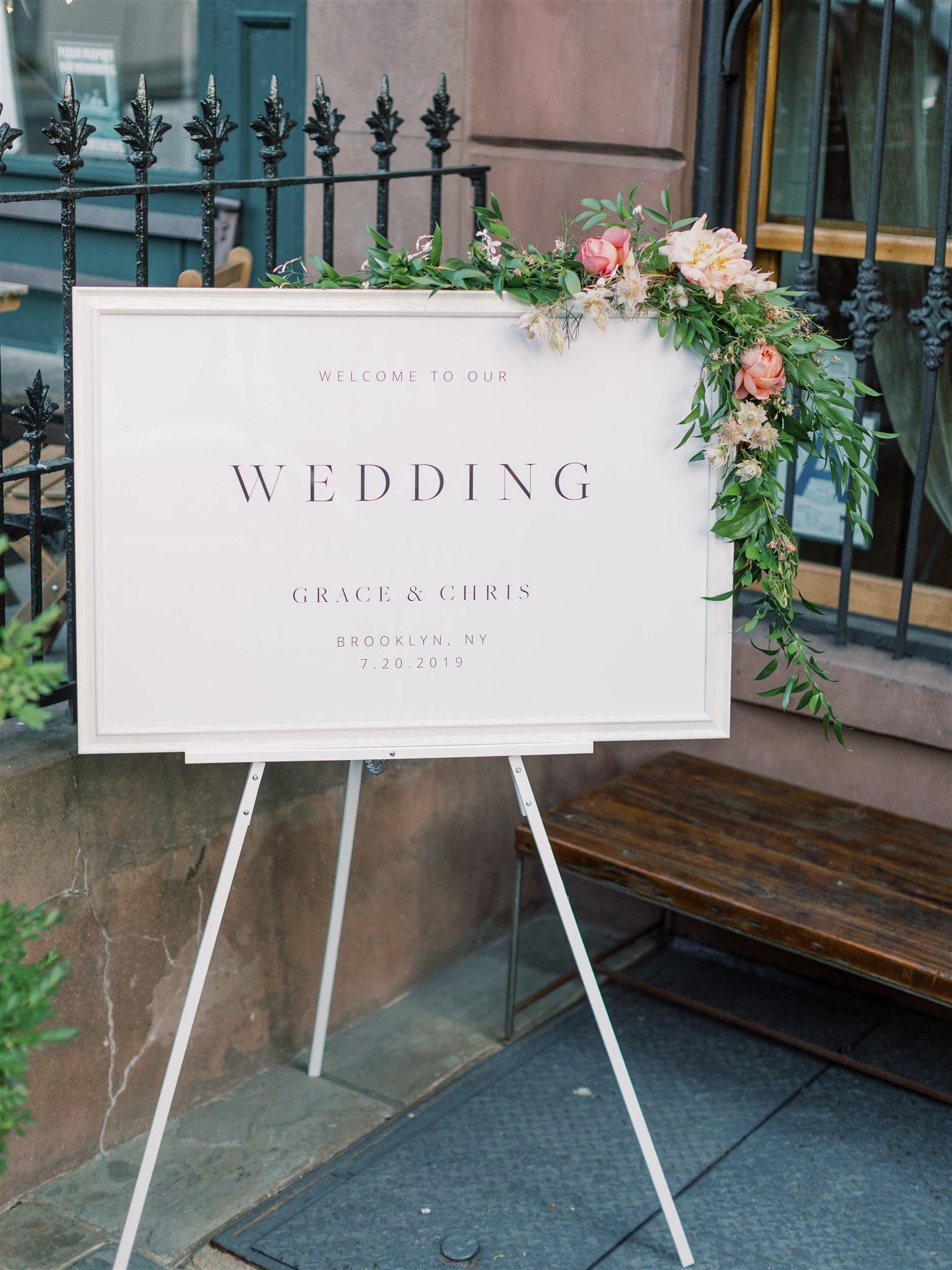 Modern + Elegant Wedding in Brooklyn 15