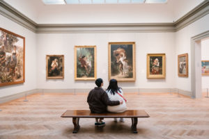 Engagement Session at The Met