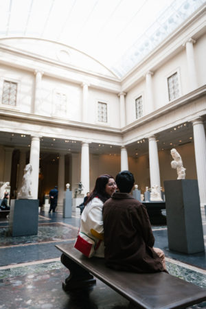 Greek and Roman Sculptures Engagement