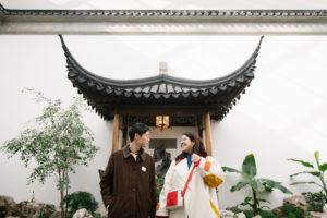 Met Chinese Garden Engagement Photos-2