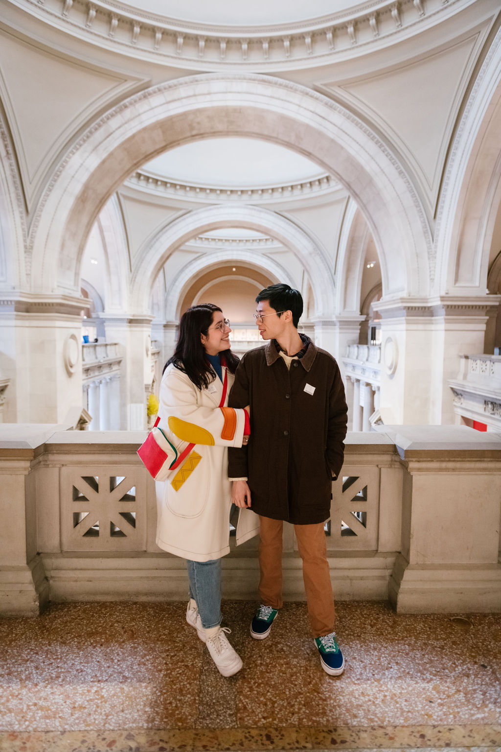 Engagement Session at The Met 9