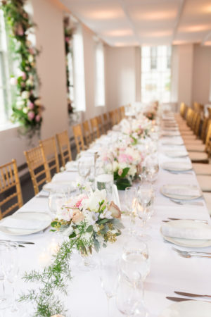 Classic White and Blush Wedding