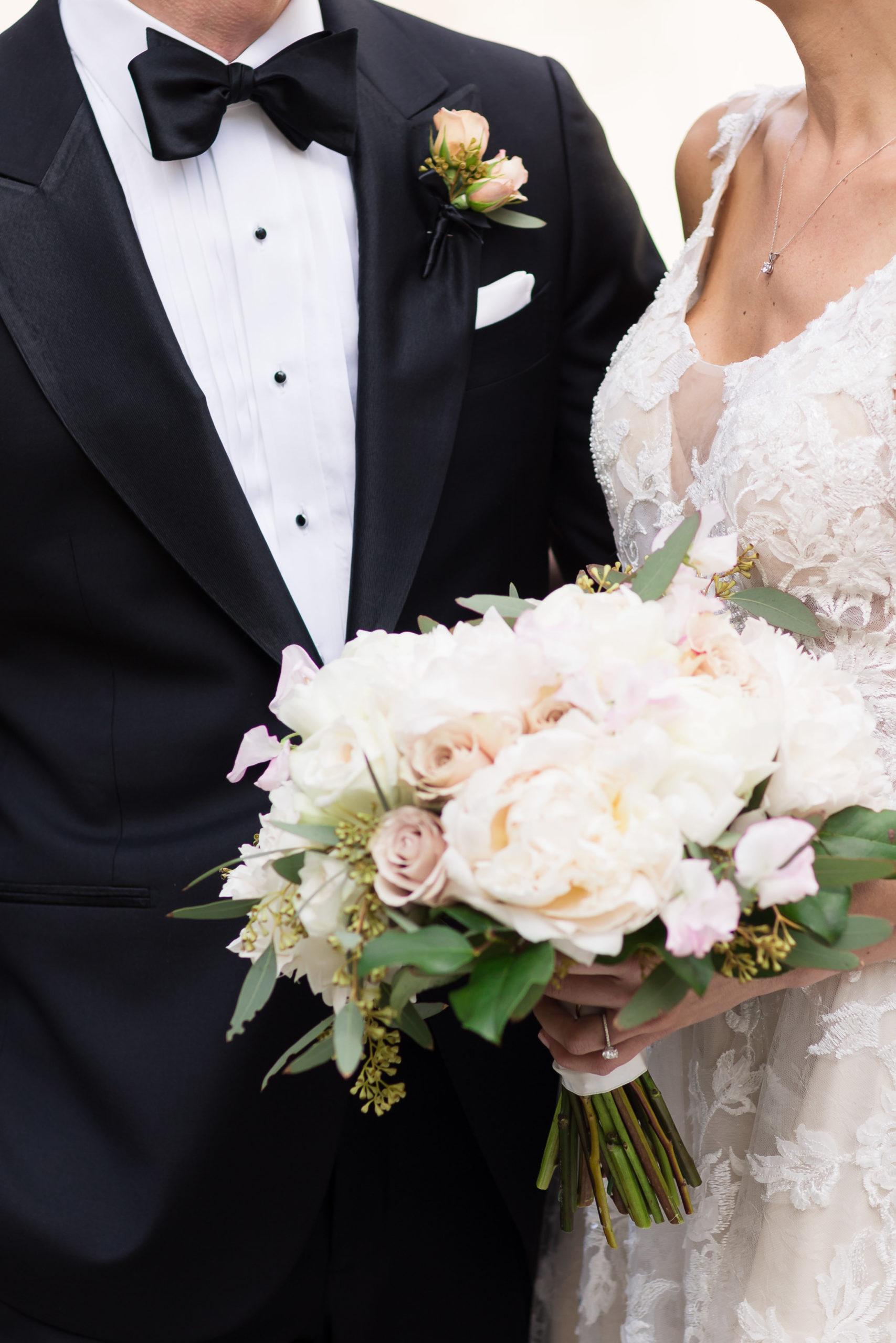 Ivory Blush Wedding Bouquet
