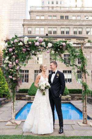 Manhattan Rooftop Wedding